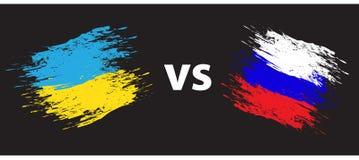 Ukraine und Russland Lizenzfreie Stockbilder