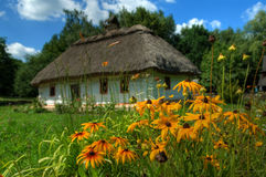 The ukraine village Stock Photography