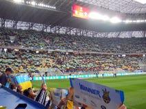 Ukraine vs Belarus Stock Photography