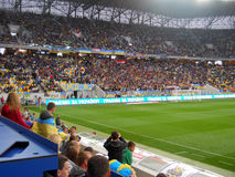 Ukraine vs Belarus Royalty Free Stock Image