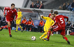Ukraine vs Canada Royalty Free Stock Images