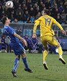 Ukraine vs Italy Stock Photos