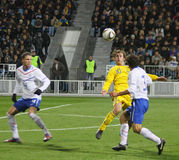 Ukraine vs Netherlands Royalty Free Stock Photo