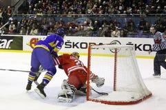 Ukraine vs Poland Royalty Free Stock Photos