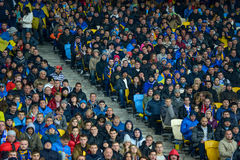 Ukraine vs Spain. UEFA EURO 2016 play-off Stock Images