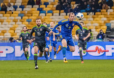Ukraine vs Wales Stock Photos