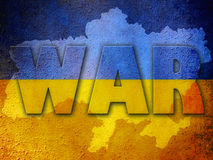 Ukraine war background Stock Photography