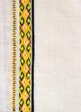 ukrainian вышивки Стоковые Фотографии RF