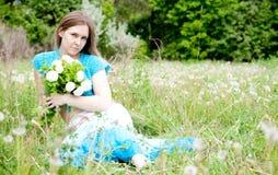 ukrainian девушки способа Стоковые Изображения RF