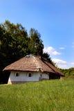 ukrainian дома старый традиционный Стоковая Фотография