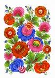 ukrainian картины традиционный Стоковое Фото