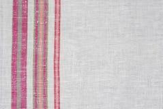 ukrainian ткани linen грубый Стоковые Изображения RF