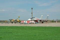 Ukrainian AF MiG-29 Stock Photography