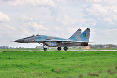 Ukrainian AF MiG-29 Royalty Free Stock Photos