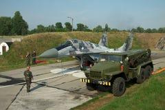 Ukrainian AF MiG-29 Stock Image