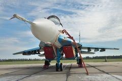 Ukrainian Air Force MiG-29 fighter plane Stock Image