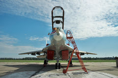 Ukrainian Air Force MiG-29 fighter plane Stock Photography