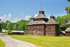 Ukrainian ancient church Stock Photo