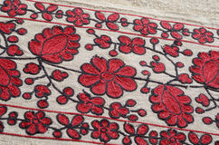 Ukrainian ancient embroidery Royalty Free Stock Photography