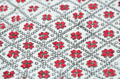 Ukrainian ancient embroidery Stock Image