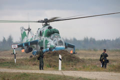 Ukrainian Army Helicopters Royalty Free Stock Image
