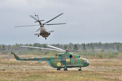 Ukrainian Army Helicopters Stock Photos