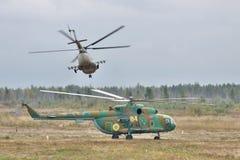 Ukrainian Army Helicopters Stock Photos