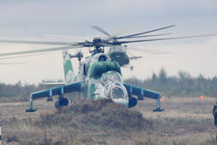 Ukrainian Army Helicopters Royalty Free Stock Photography