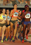 Ukrainian athlete Olha Lyakhova Stock Photos