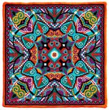 Ukrainian authentic embroidery carpet Stock Photos