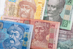 Ukrainian bank notes Stock Photo
