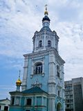 Resurrection Church belfry, Sumy, Ukraine Royalty Free Stock Photo
