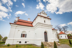 Ukrainian Baroque residence in Ukrainian Hetman Khmelnitsky Stock Photos