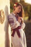 Ukrainian beautiful girl Stock Photo