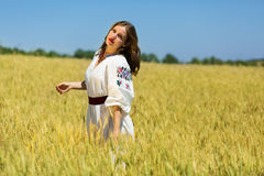 Ukrainian beauty Stock Image