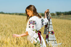 Ukrainian beauty Stock Images