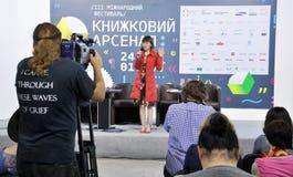 Ukrainian bestselling author Nadiia Gerbish Stock Photography