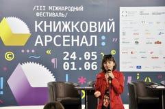 Ukrainian bestselling author Nadiia Gerbish Stock Photos