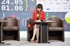 Ukrainian bestselling author Nadiia Gerbish Royalty Free Stock Images