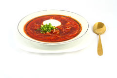 Ukrainian borscht Stock Photo