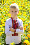 Ukrainian boy Royalty Free Stock Photography