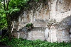 Ukrainian bunker in Dubno, ruins. Royalty Free Stock Images