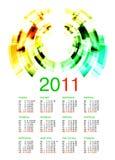 Ukrainian calendar 2011 Royalty Free Stock Photo