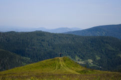 Ukrainian Carpathians Royalty Free Stock Photos