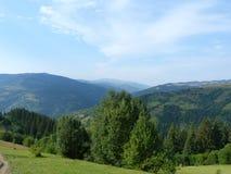 The Ukrainian Carpathians. Royalty Free Stock Photography