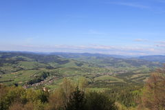 Ukrainian Carpathians Stock Photography