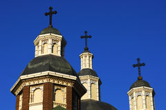 Ukrainian catholic cathedral Royalty Free Stock Photos