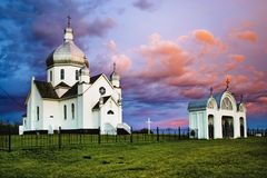 Ukrainian Catholic Church Stock Image