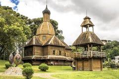 Free Ukrainian Catholic Church In Park Royalty Free Stock Photography - 114176407