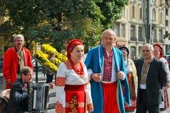 Ukrainian choir Royalty Free Stock Photos